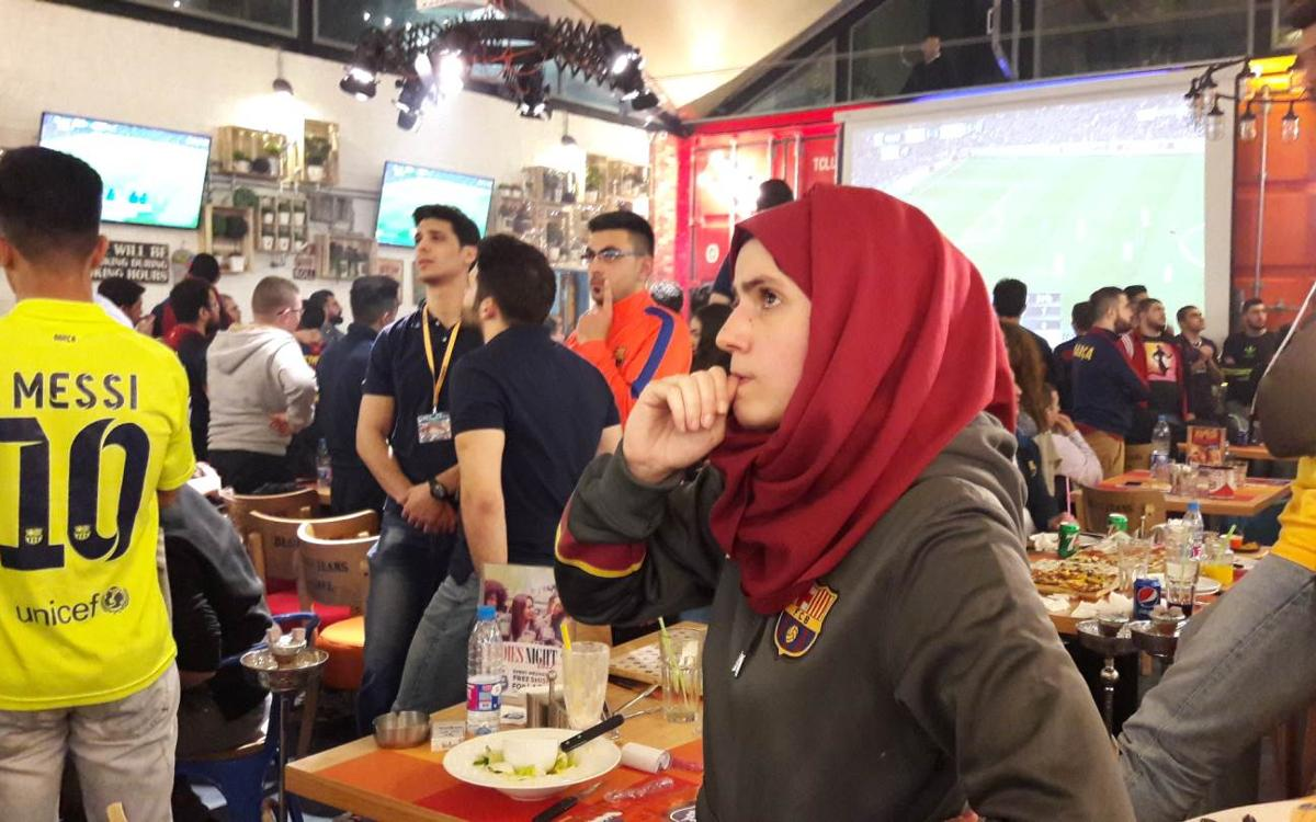 Beirut goes wild as Barça win at the Bernabéu