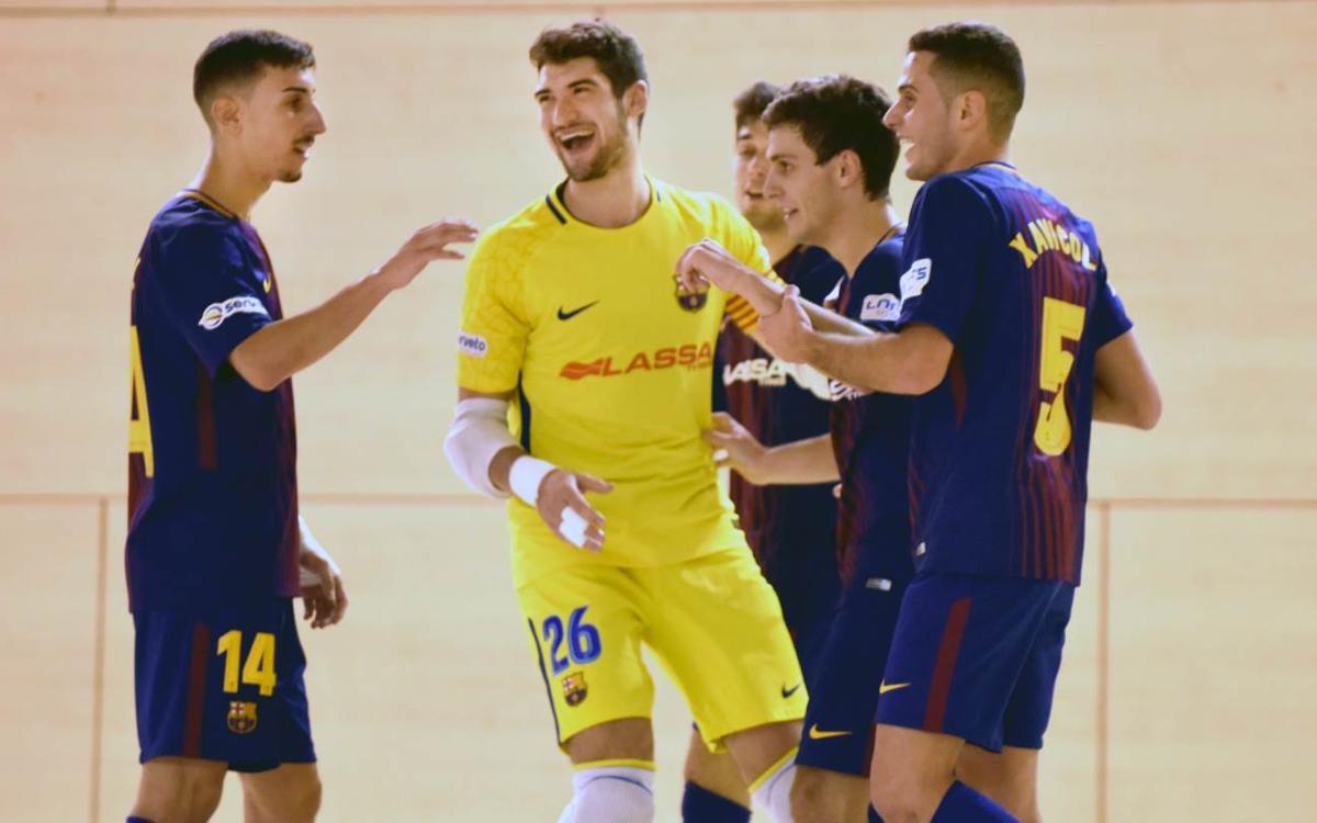 Prone Lugo – Barça Lassa B (1-5): Triomf per seguir a la part alta