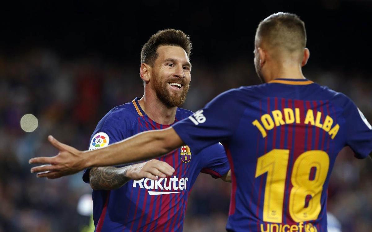 FC Barcelona 5-0 RCD Espanyol: Derby delight