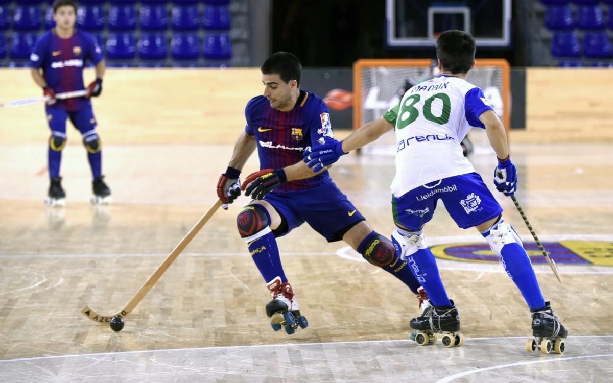 Barça Lassa – ICG Software Lleida: Prueba exigente en el último partido del 2017 en el Palau