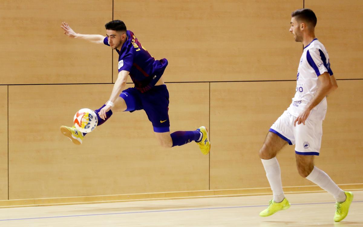 Barça Lassa B – Bisontes Castellón (1-1): Empat a la Ciutat Esportiva Joan Gamper