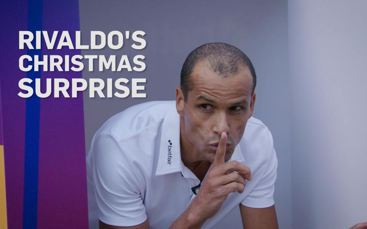 Rivaldo's Betfair Christmas surprise