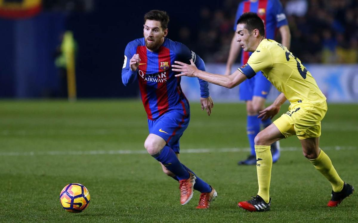 VIDEO: Messi's goals at Villarreal