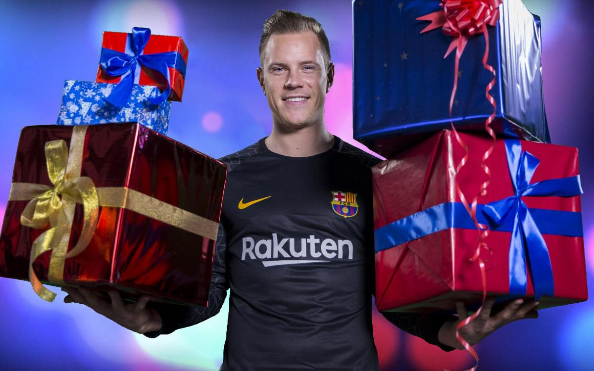 Merry Christmas from FC Barcelona!