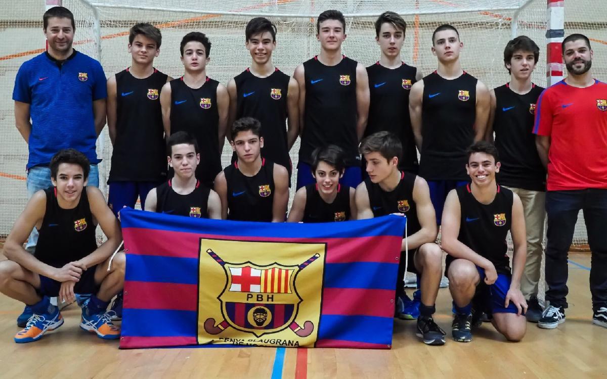 El Barça, campió cadet d'hoquei sala