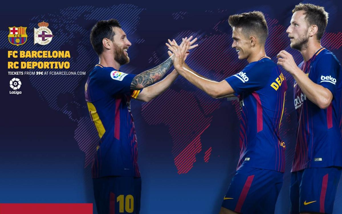 When and where to watch FC Barcelona – Deportivo