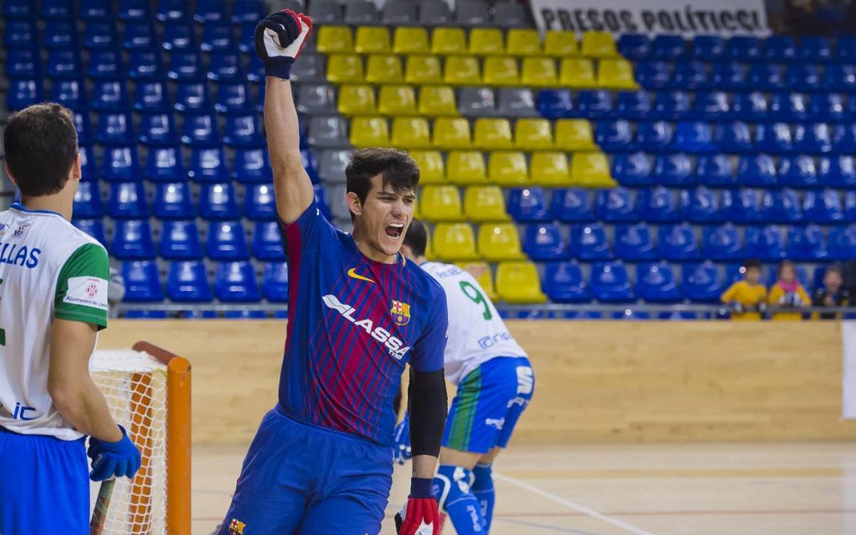 Barça Lassa - ICG Software Lleida: Triunfo trabajado ante un rival combativo (4-1)