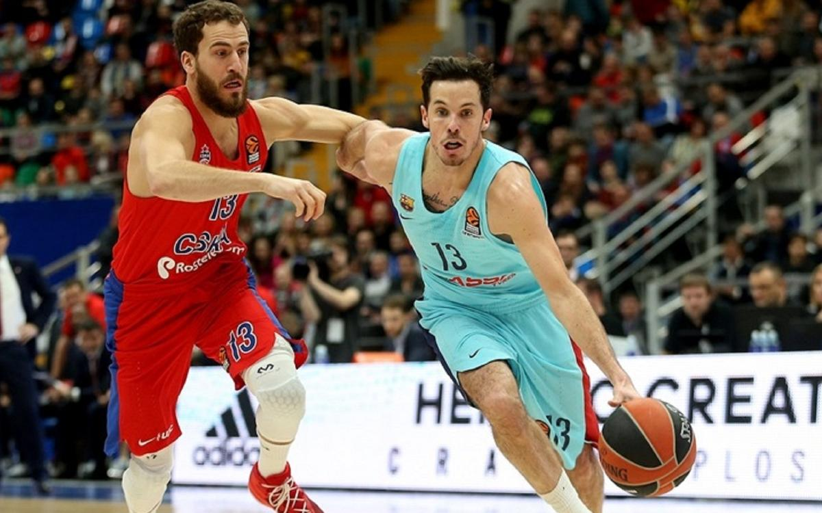 CSKA Moscow 92-78 FC Barcelona Lassa: Defeated by the leaders