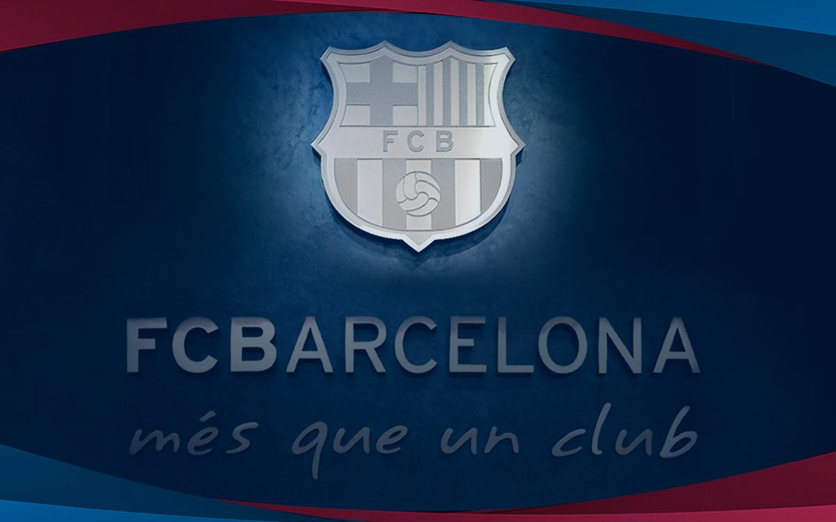 FC Barcelona press release