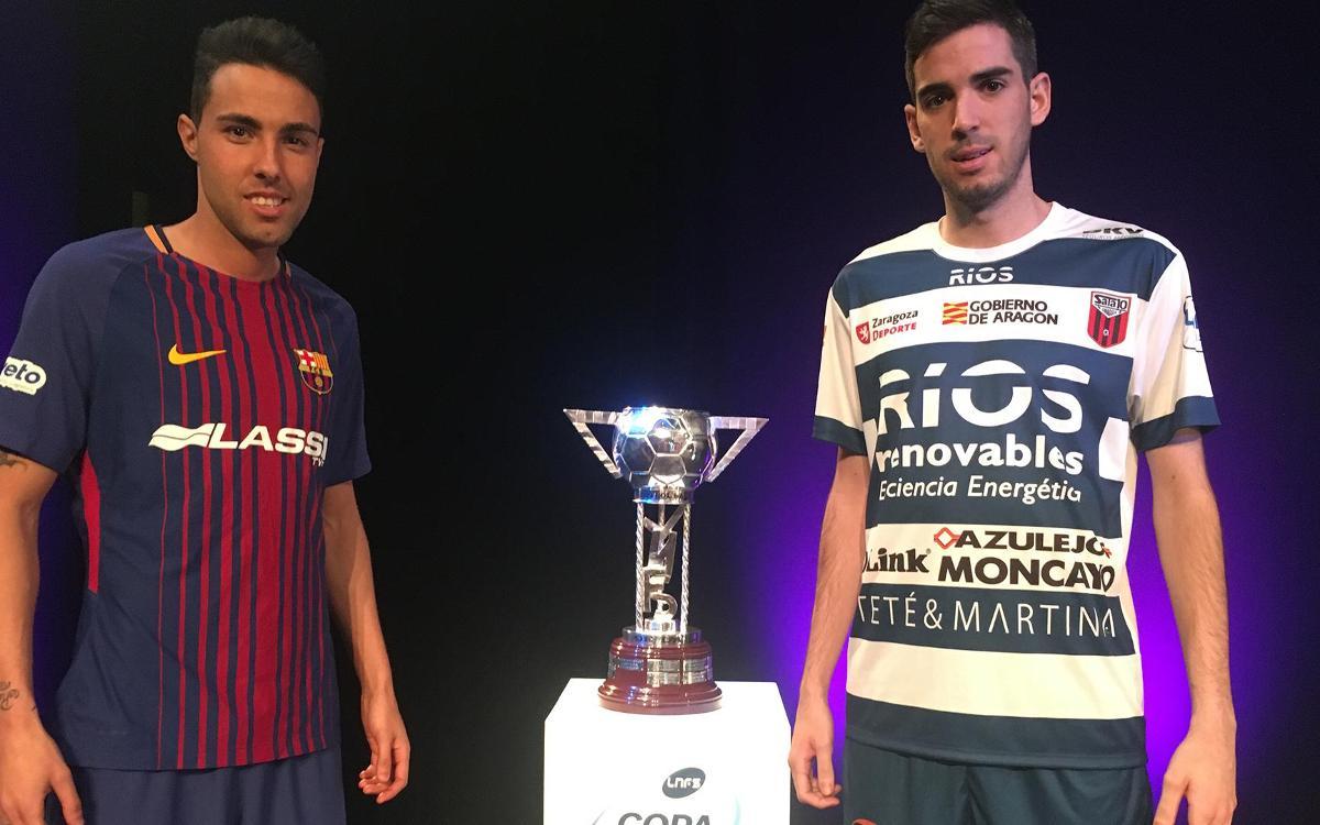 El Ríos Renovables Zaragoza, primer rival del Barça Lassa en la Copa de España