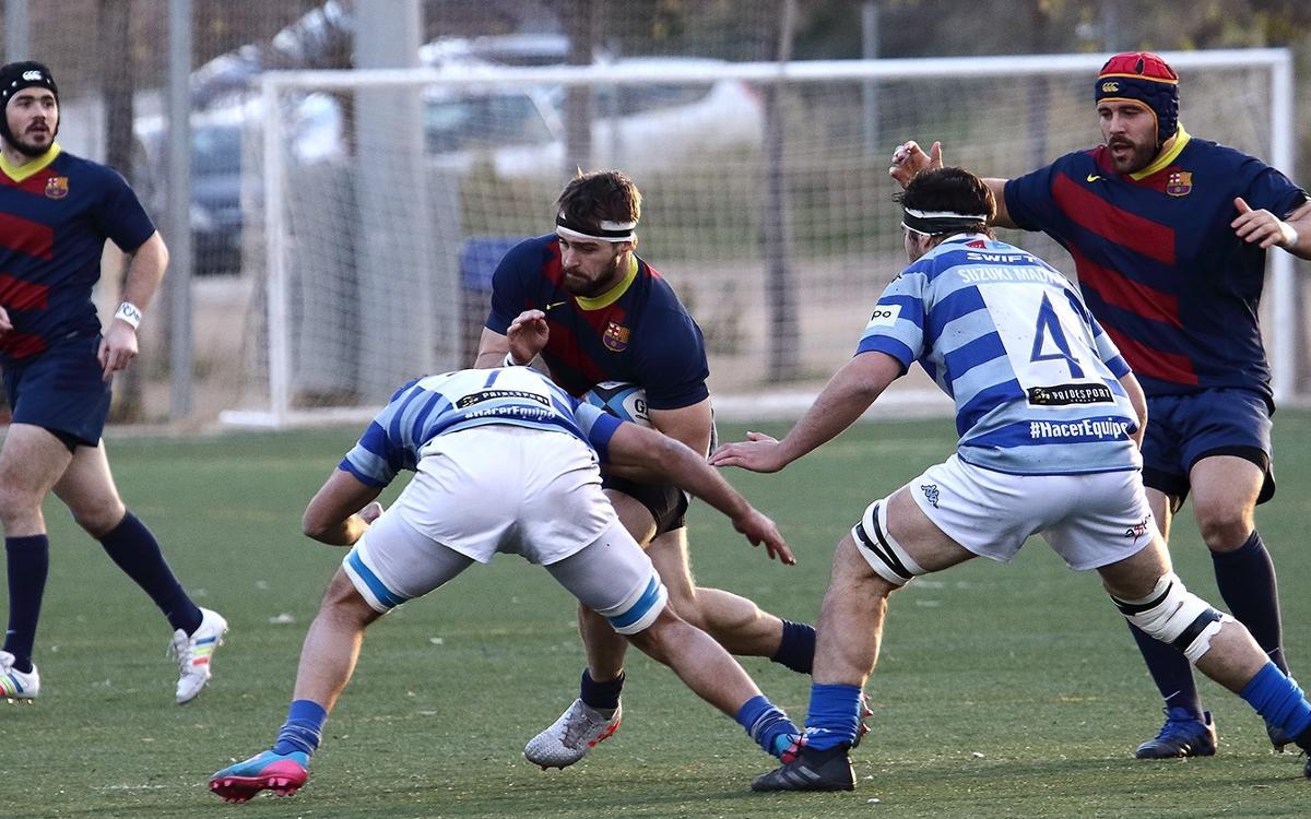Victoria de play off ante el Complutense Cisneros (45-30)