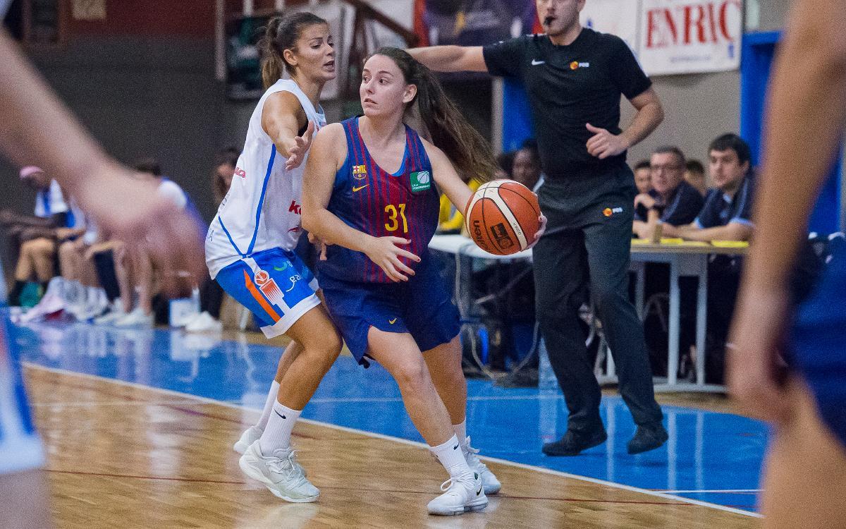 Patatas Hijolusa - Barça CBS: Cierran un 2017 de ensueño con un triunfo (56-64)