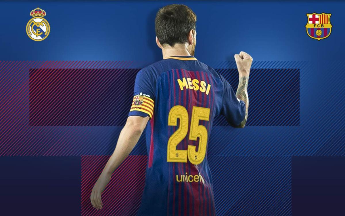 Messi anota su 25º gol en la historia de los Clásicos