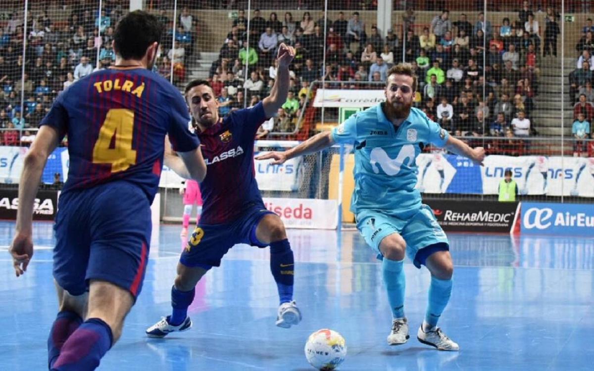 Movistar Inter - FC Barcelona: La efectividad local decide el liderato (4-1)