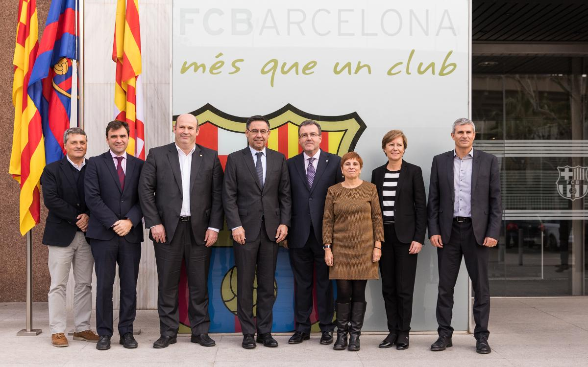 Barça Innovation Hub to promote Masters in Physiotherapy with Ramon Llull University