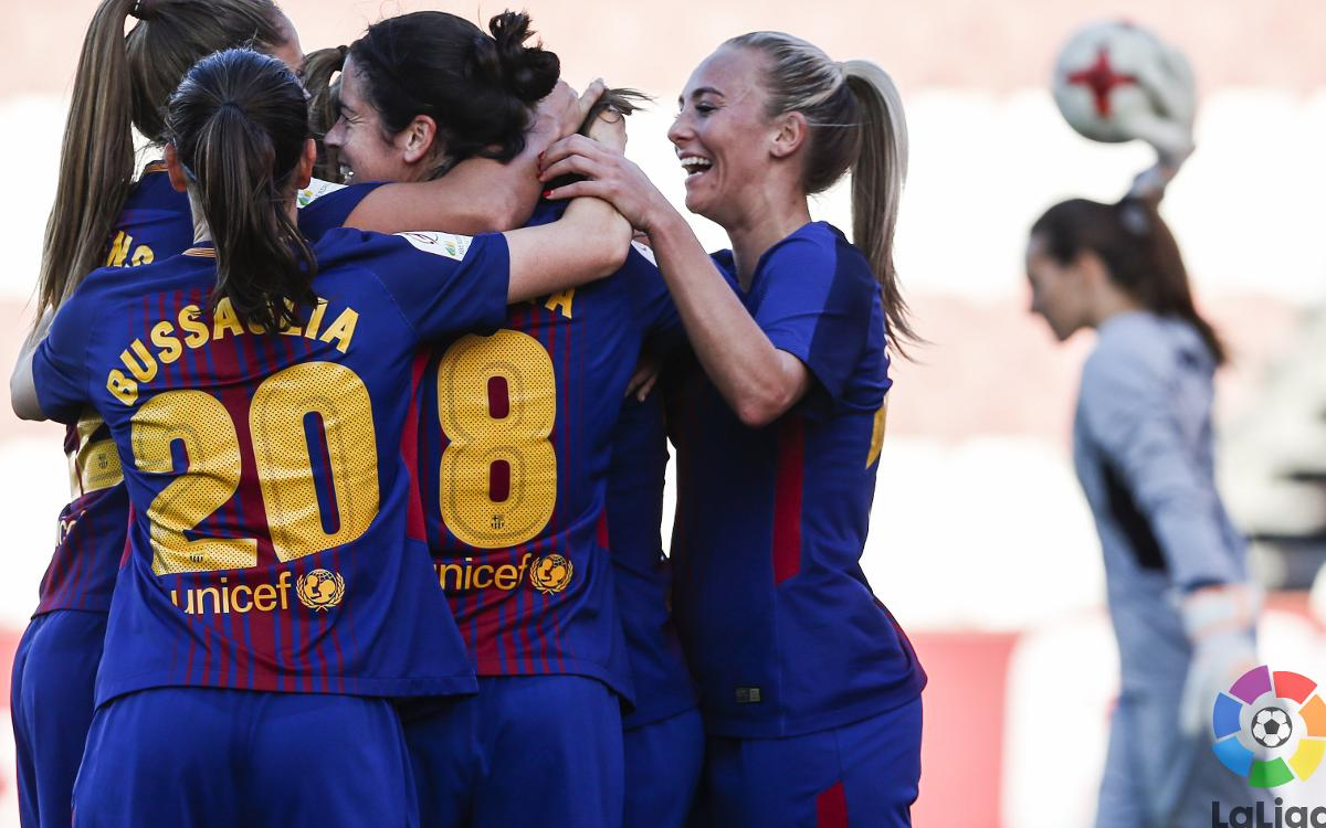 Sevilla FC - Barça Women: A win to be proud of in Andalusia (0-2)