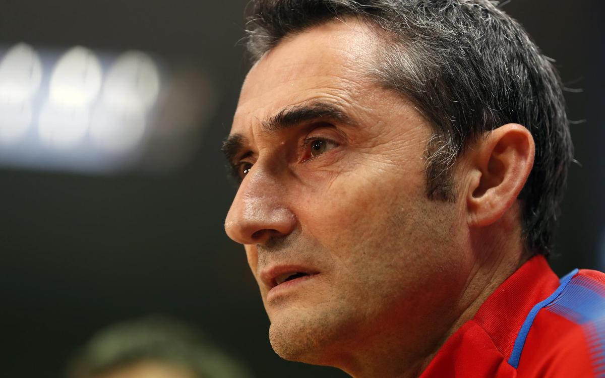 Ernesto Valverde quotes before match at Villarreal