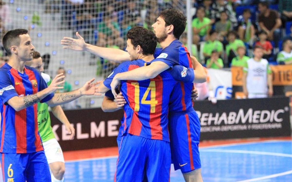 El Barça Lassa busca tancar l'any amb victòria a Son Moix