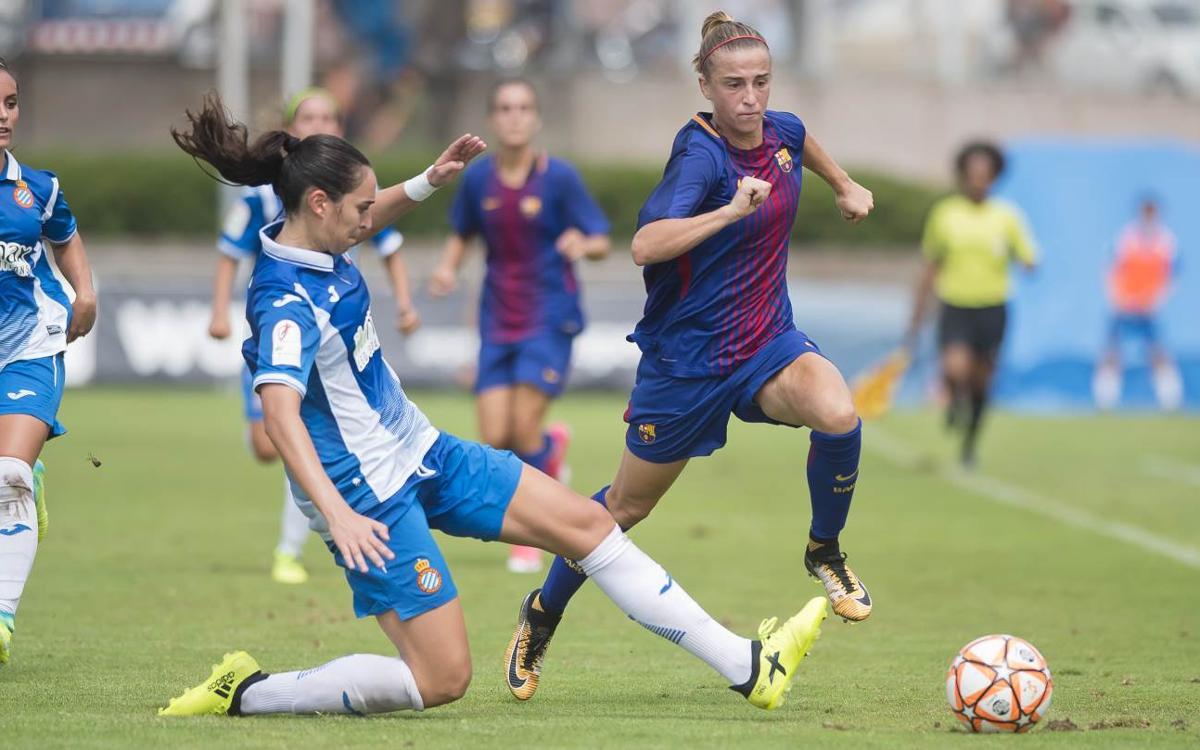 FC Barcelona Femenino - RCD Espanyol (previa): Derbi por el liderato