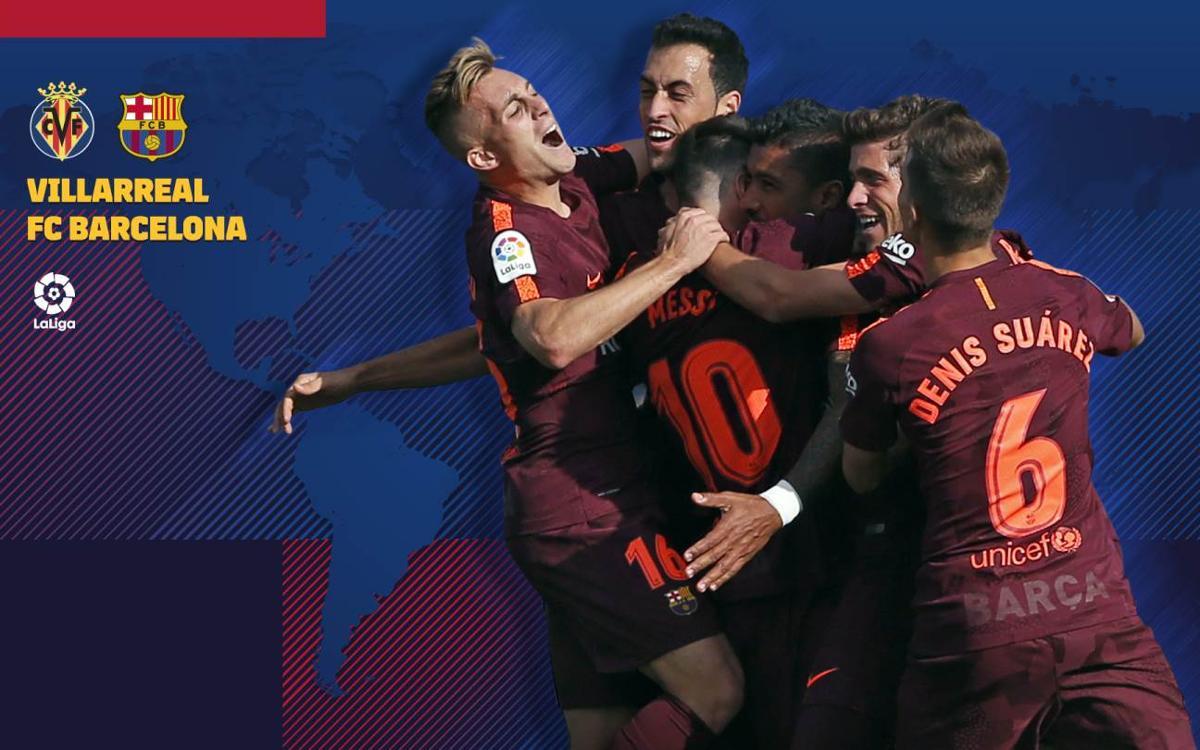 Cuándo y dónde ver el Villarreal - FC Barcelona