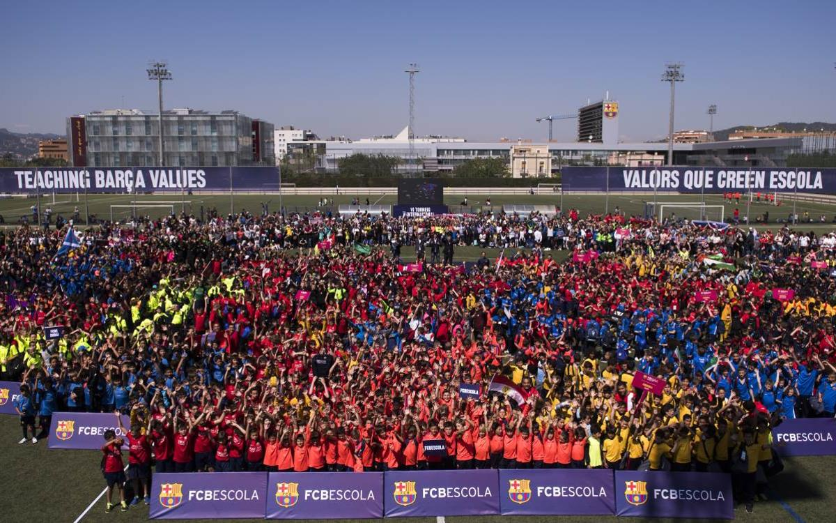 FCBEscola's International Tournament kicks off and it's the biggest one yet