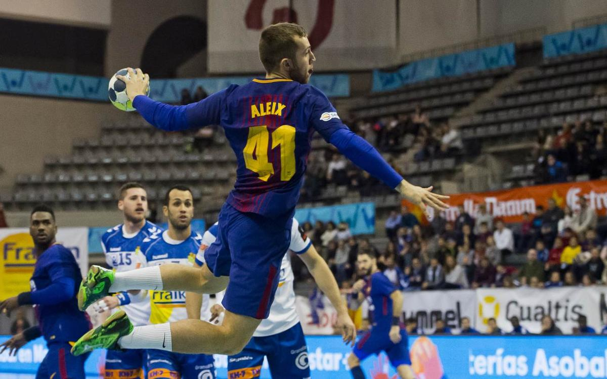 Fraikin BM Granollers – FC Barcelona Lassa: Big win to keep going (19-43)
