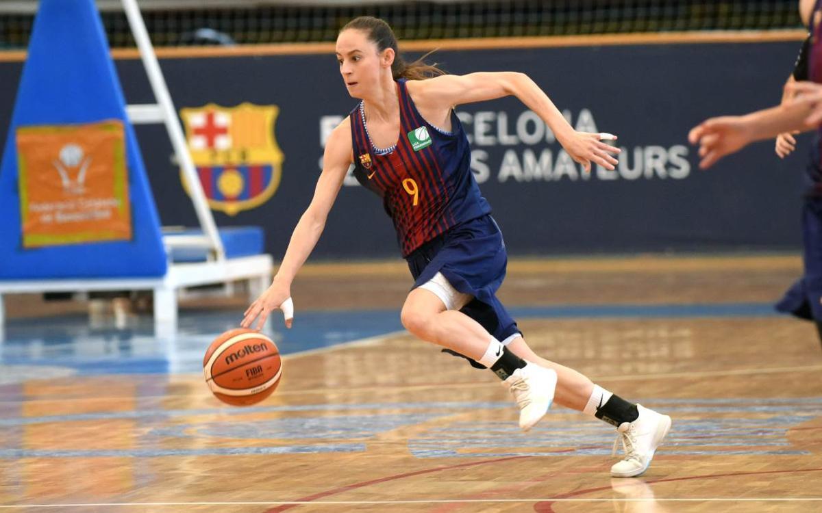El Barça CBS continua sumant a la Lliga Femenina 2 (71-66)