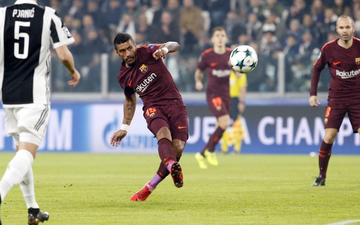 HIGHLIGHTS: Juventus 0, Barça 0