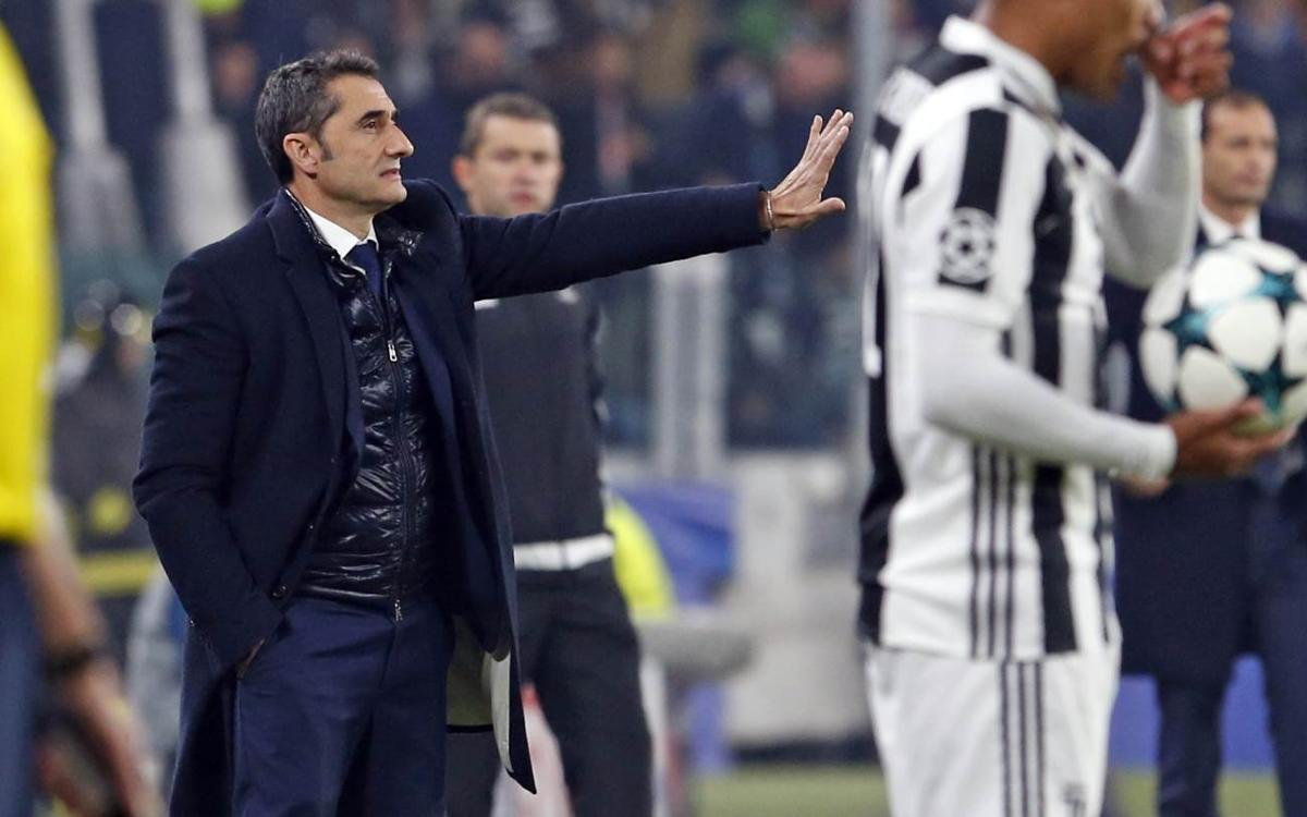 Ernesto Valverde: We showed character