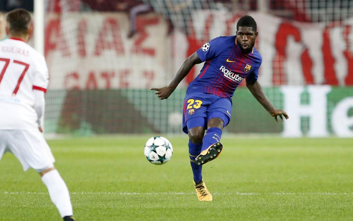 Samuel Umtiti, another solid performance