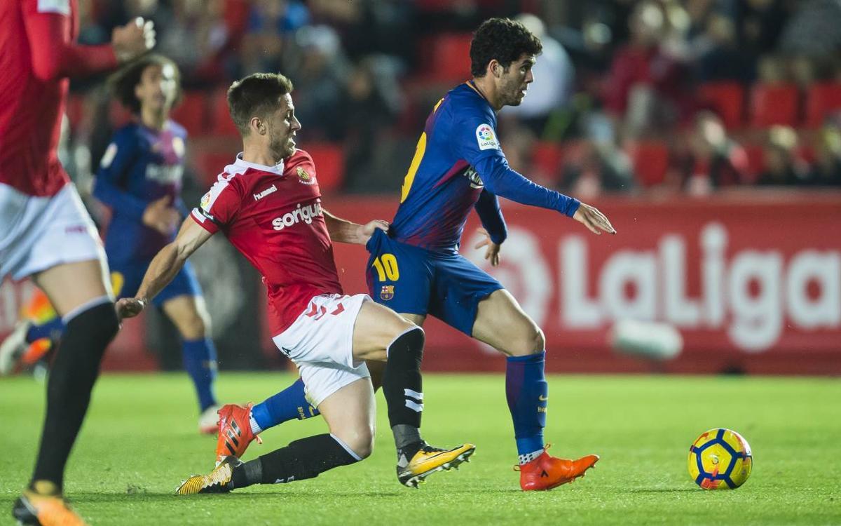Gimnàstic de Tarragona - FC Barcelona B: Repartiment de punts al Nou Estadi (0-0)