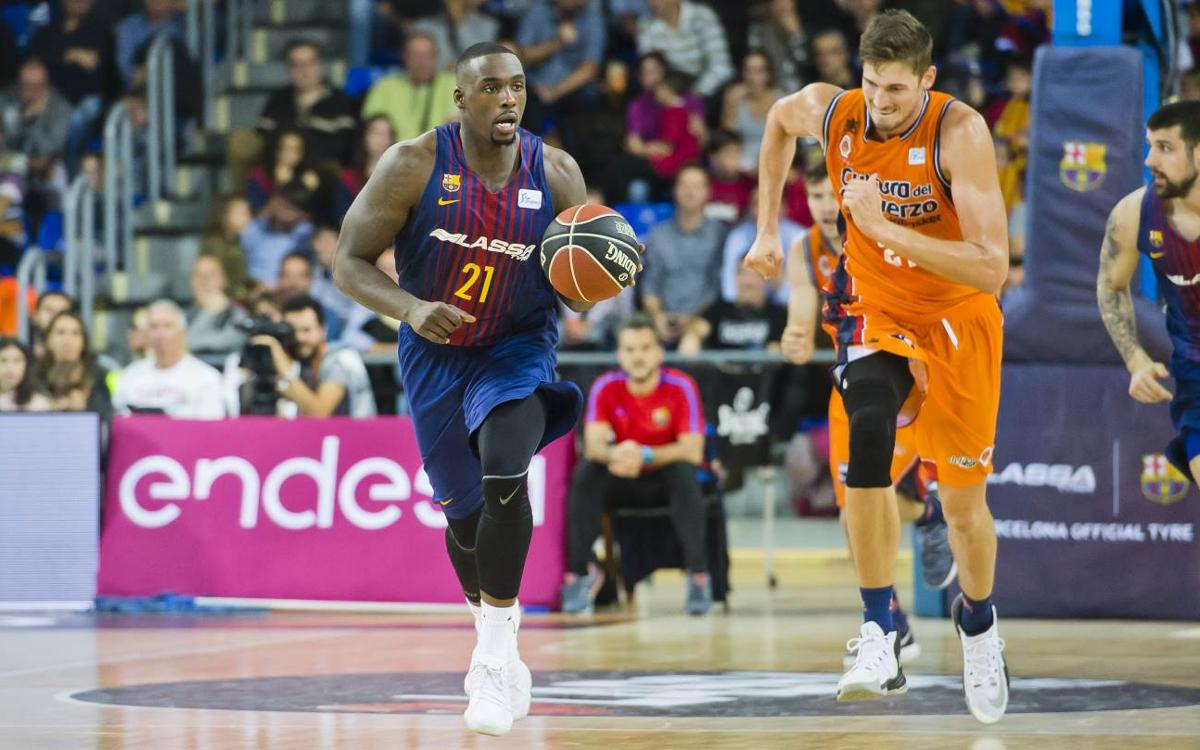 Barça Lassa – Valencia Basket: Second win in two days (79-74)