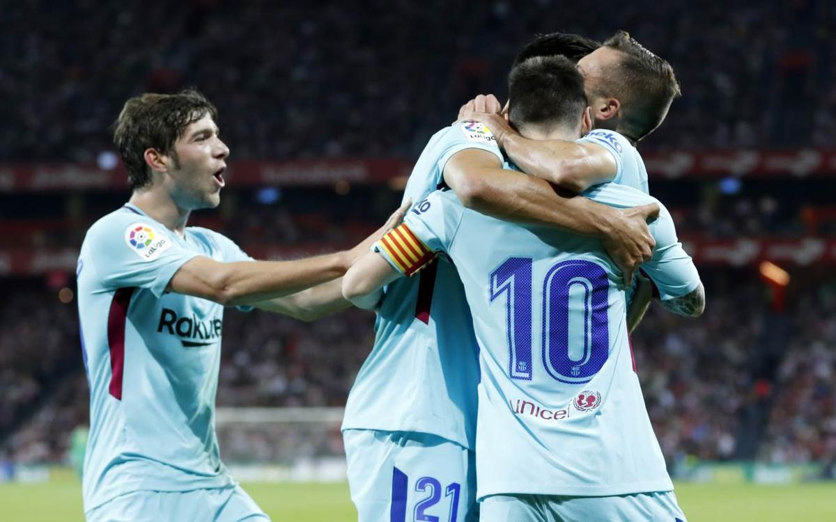 Athletic Club 0-2 FC Barcelona: Survival at San Mamés