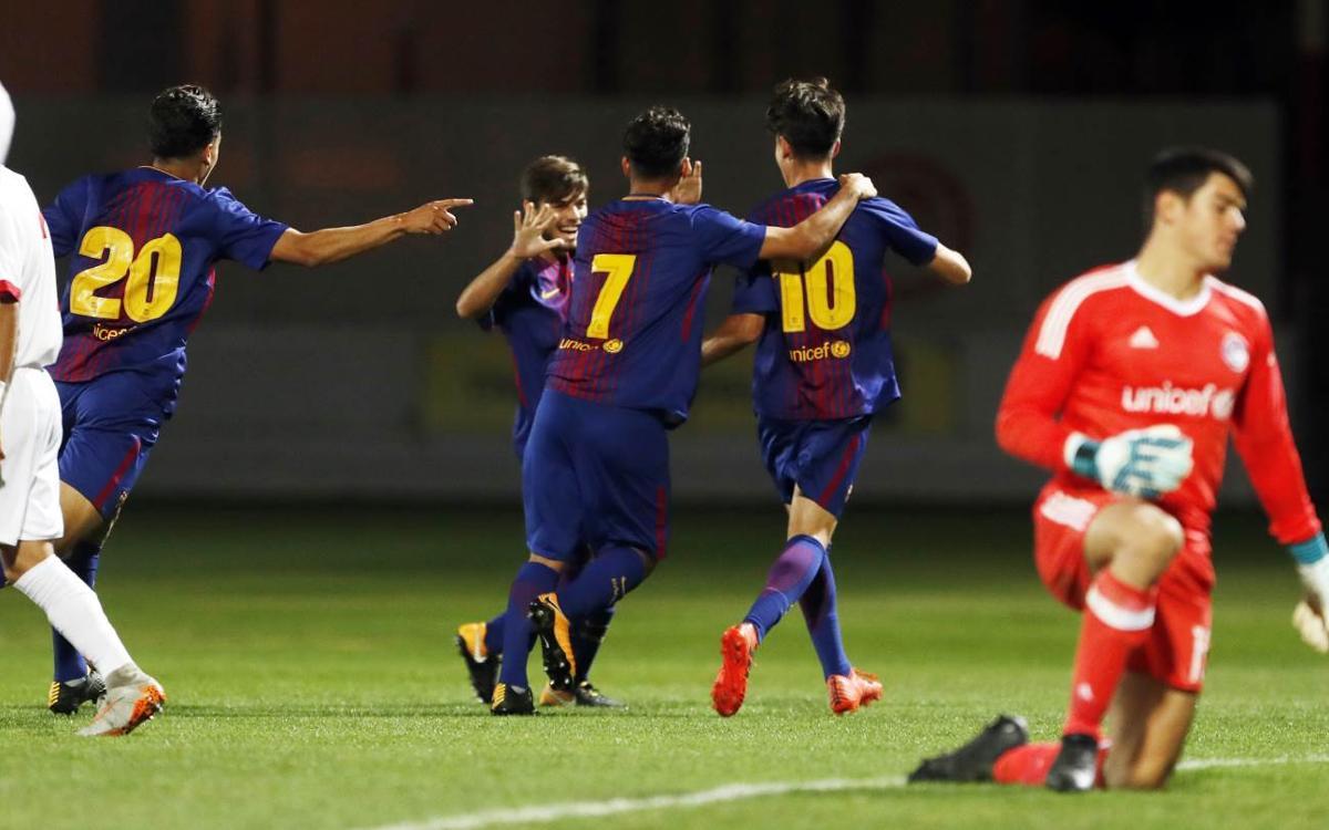 Los cinco mejores goles de la jornada en la Masía