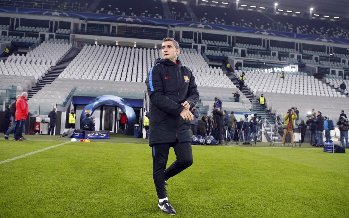 Cautious Ernesto Valverde 'fears' Juventus