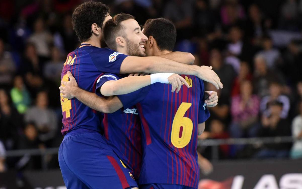 FC Barcelona Lassa – Levante UD FS: Victoria de nuevo líder (4-0)