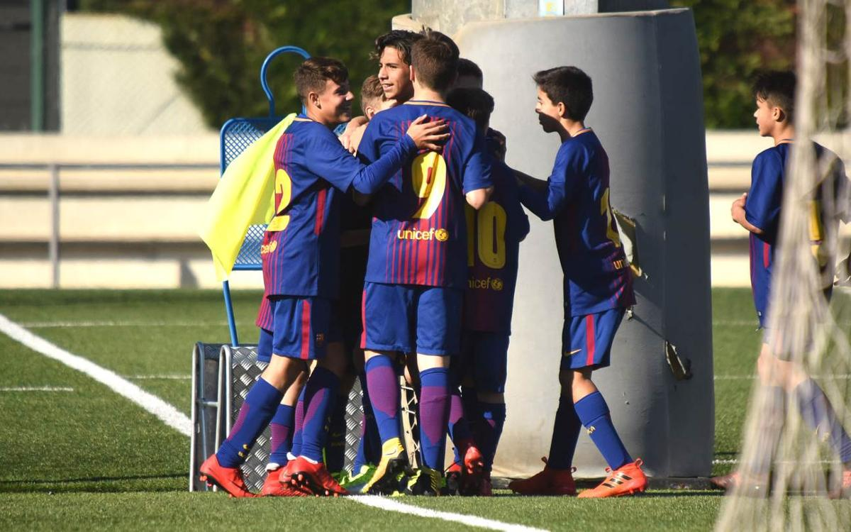 VIDEO: Watch the five top strikes from the Barça academy teams last week