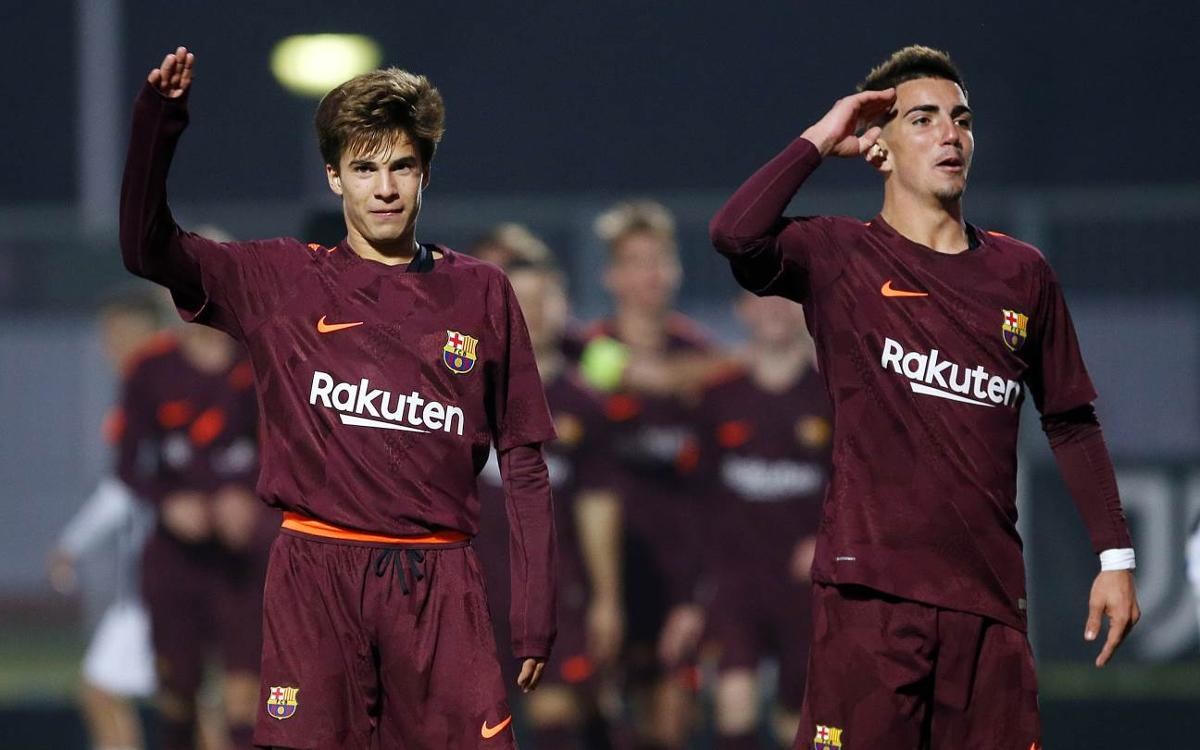 U19s: Juventus FC v FC Barcelona: A win to secure top spot (0-1)