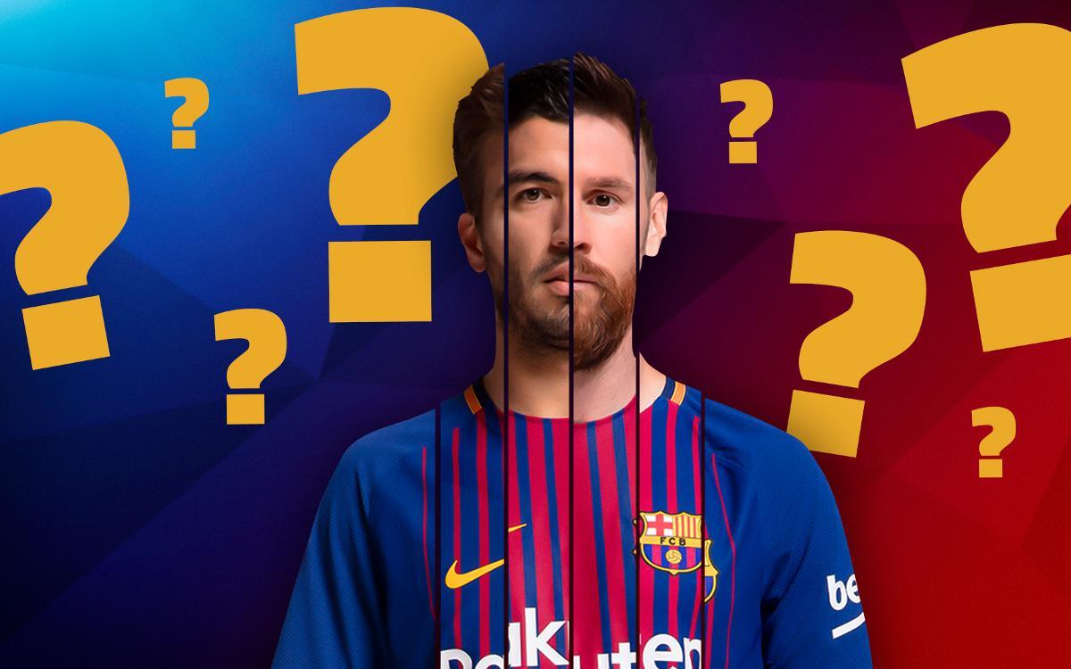 Quin jugador del Barça ets?