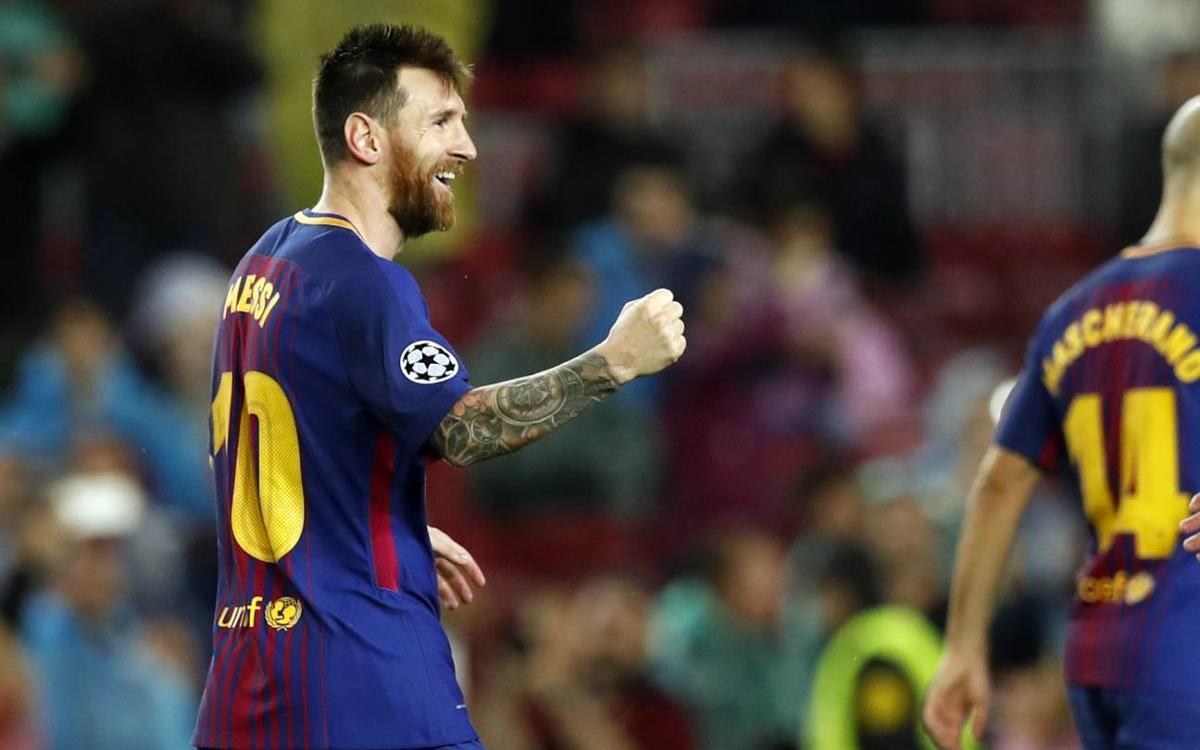 Leo Messi arriba als 100 gols en competicions europees