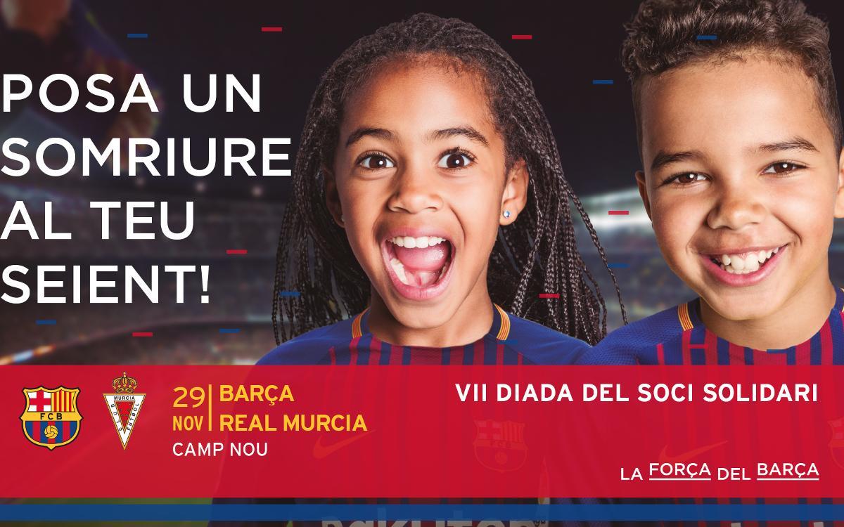 El Club allibera tot el Camp Nou per al partit solidari contra el Múrcia a la Copa