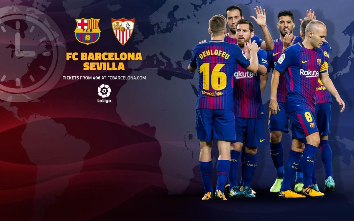 Quan i on es pot veure el FC Barcelona – Sevilla FC