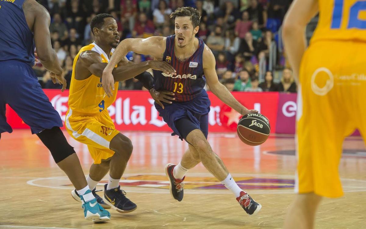 FC Barcelona Lassa – UCAM Múrcia: Defeat from the three-point line (94-97)
