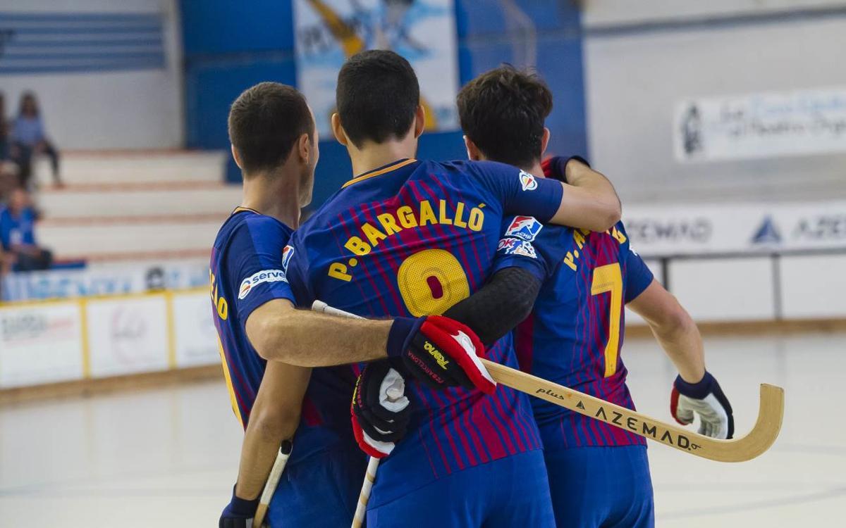 Barça Lassa - Reus Deportiu: Victory and progress to the final (5-2)