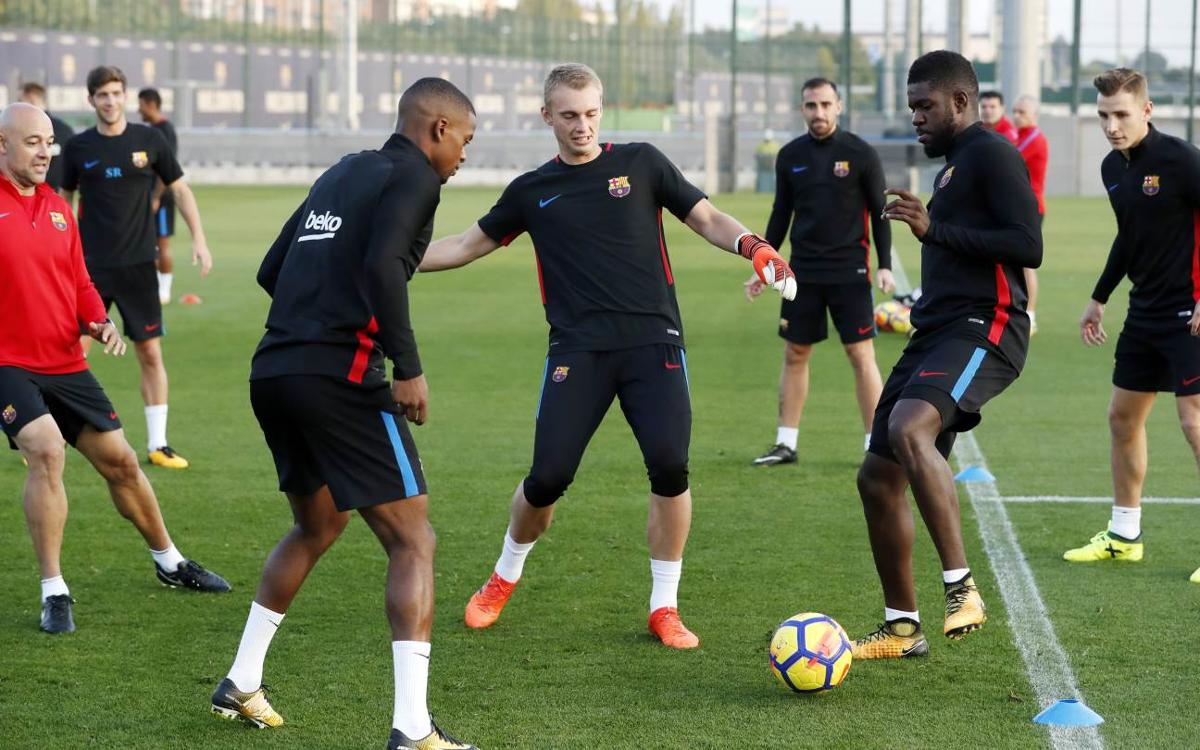 Training plan for Barça ahead of LaLiga return
