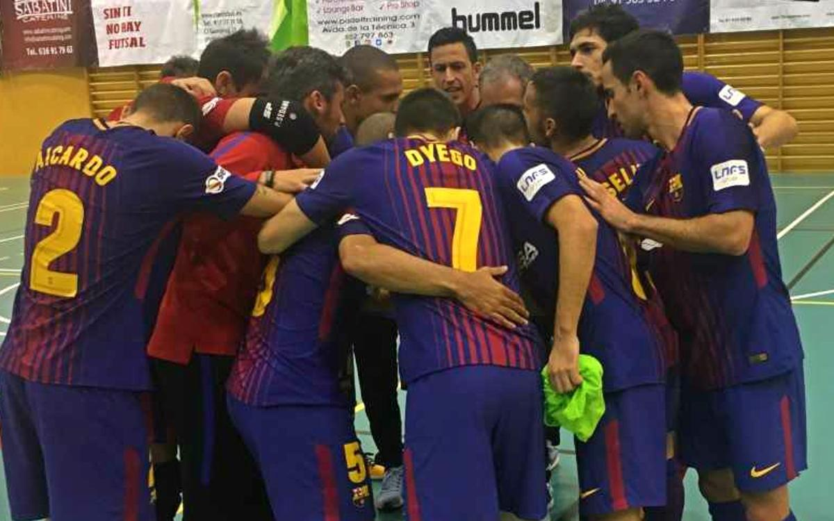Rivas Futsal – FC Barcelona Lassa: Through to the last four (1-8)