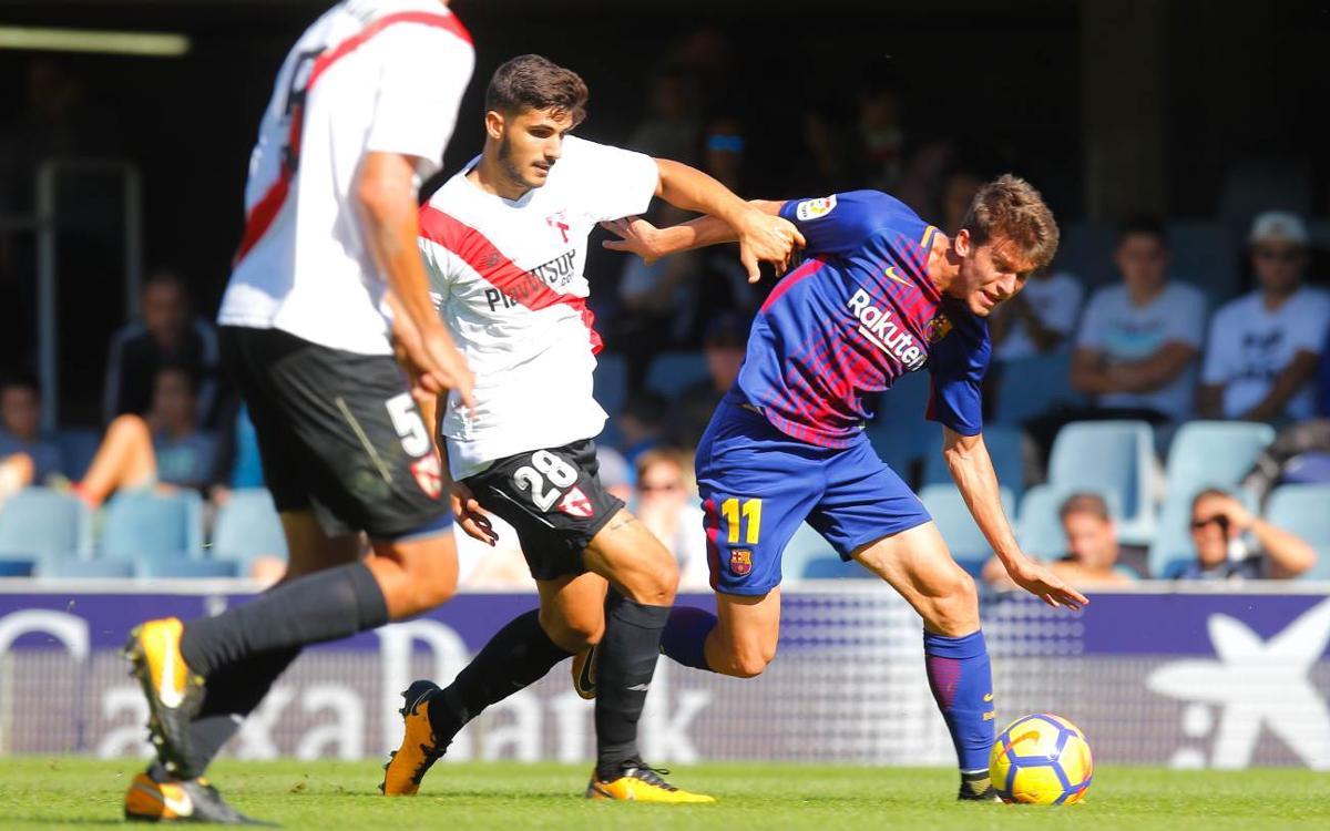 Barça B - SD Huesca: Reto de altura