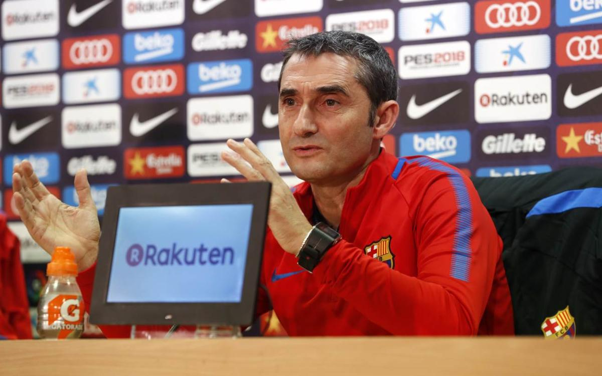 Ernesto Valverde offering playing time against Murcia