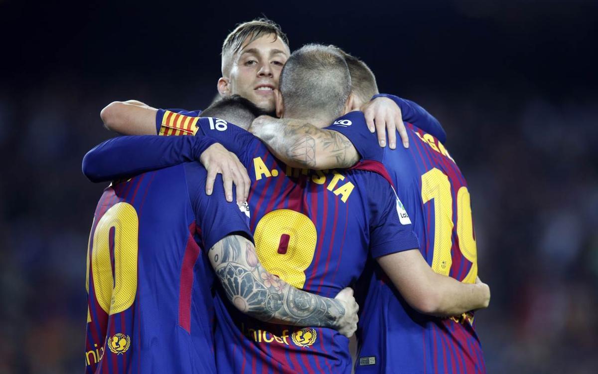FC Barcelona - Málaga CF: El líder no falla (2-0)
