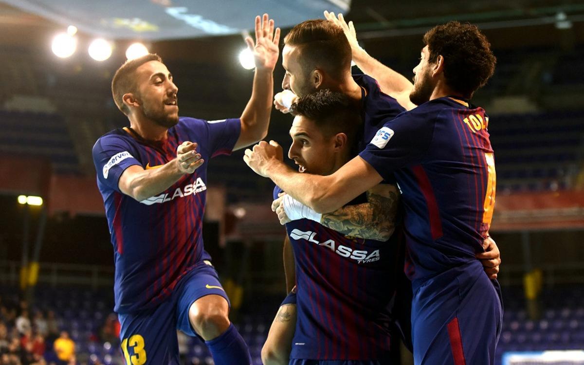 El Barça Lassa disputarà per setena vegada la semifinal de la Copa del Rei